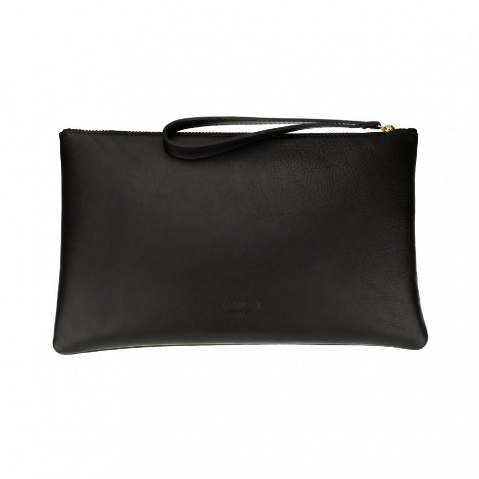 Bolsa grande de mano de color negro