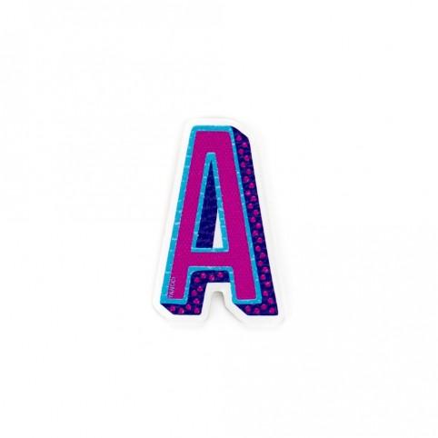 Pegatina letra A