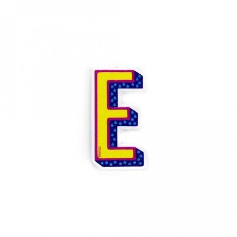 Pegatina letra E