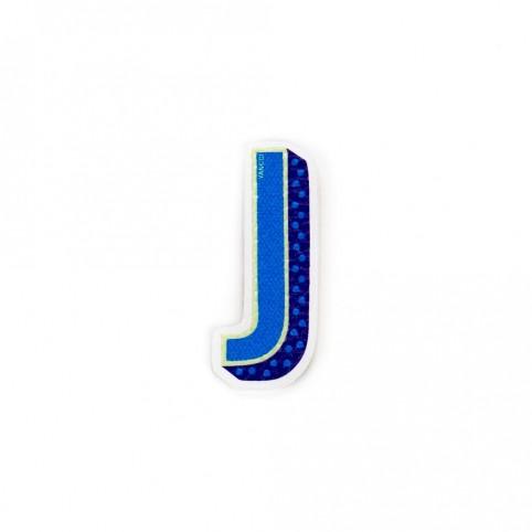 Pegatina letra J