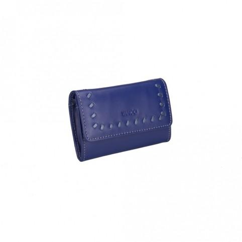 Monedero marca Yancci, de color azul