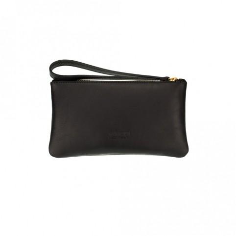 Bolsa pequeña de mano de color negro