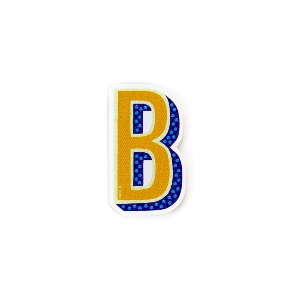 Pegatina letra B