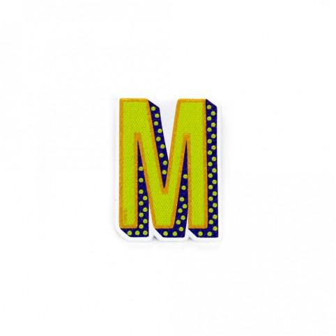 Pegatina letra M